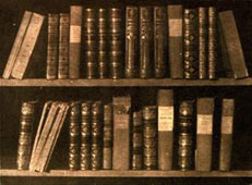 "William Henry Fox Talbot: ""A Scene in a Library"", 1844"