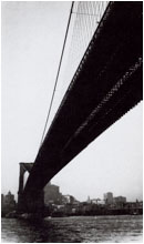 "Walker Evans: ""Brooklyn Bridge, 1929"