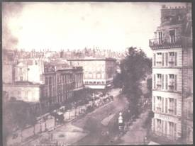 "William Henry Fox Talbot: ""The Boulevards of Paris"", 1843"